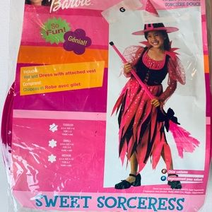 Barbie pink sorceress witch size 2 to 4 toddler